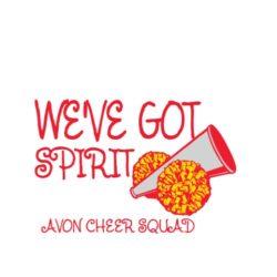 thatshirt t-shirt design ideas - Cheerleading - We've got spirit