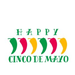 thatshirt t-shirt design ideas - Cinco de Mayo - CDM Peppers