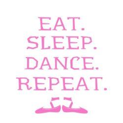 thatshirt t-shirt design ideas - Dance - Dance EatSleep