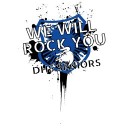 thatshirt t-shirt design ideas - Senior - We Will Rock You