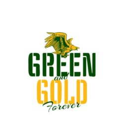 thatshirt t-shirt design ideas - Slogans - Green And Gold Forever
