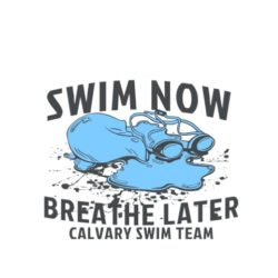 thatshirt t-shirt design ideas - Slogans - Swim Now, Breathe Later