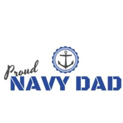 thatshirt t-shirt design ideas - Support/Family - Navy Dad