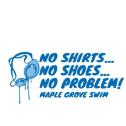 thatshirt t-shirt design ideas - Swimming & Diving - No Shirt, no shoes, no problem
