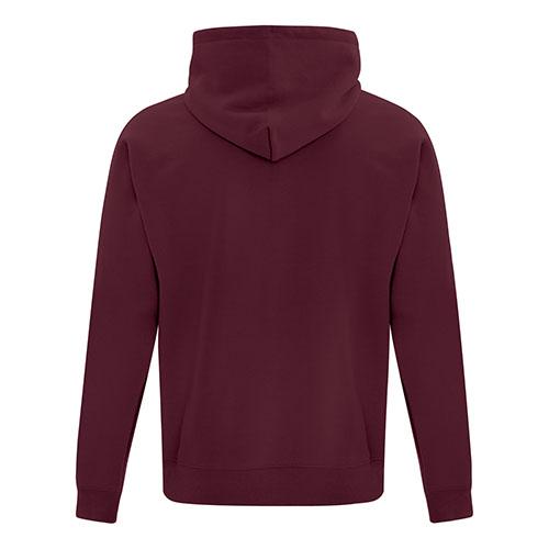 Custom Printed ATC Everyday Fleece Hooded Sweatshirt F2500 - 9 - Back View | ThatShirt