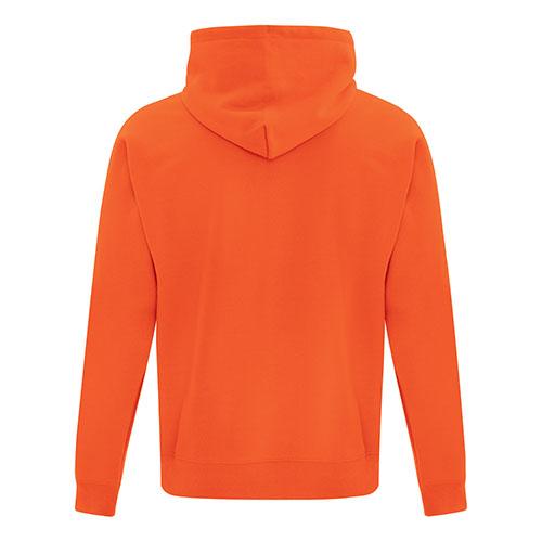 Custom Printed ATC Everyday Fleece Hooded Sweatshirt F2500 - 11 - Back View | ThatShirt
