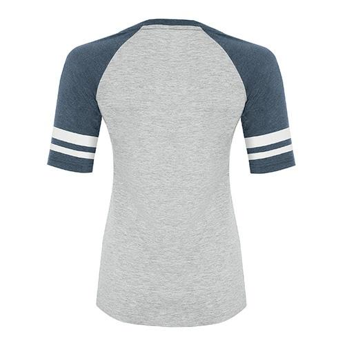 Custom Printed ATC 0822L Active Baseball Ladies Tee - 7 - Back View | ThatShirt
