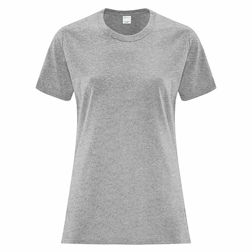 Custom Printed ATC1000L Everyday Cotton Ladies' Tee - 3 - Front View | ThatShirt