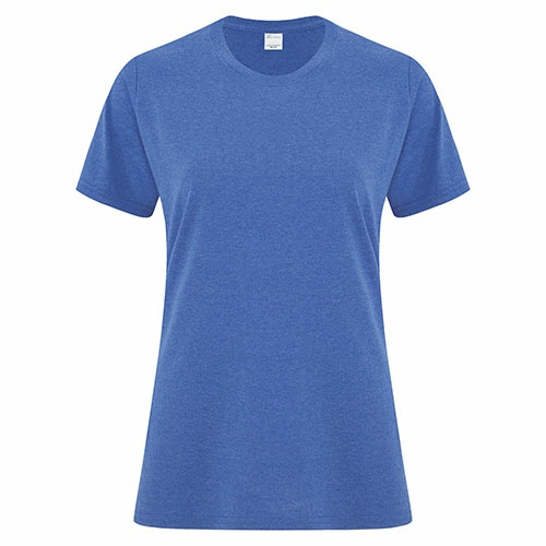Custom Printed ATC1000L Everyday Cotton Ladies' Tee - Front View | ThatShirt
