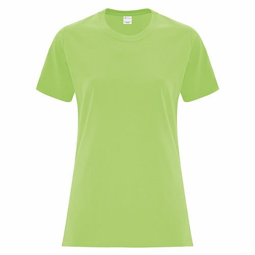 Custom Printed ATC1000L Everyday Cotton Ladies' Tee - 1 - Front View | ThatShirt