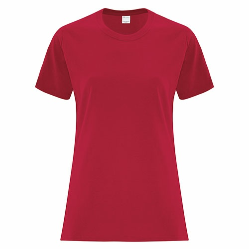 Custom Printed ATC1000L Everyday Cotton Ladies' Tee - 16 - Front View | ThatShirt
