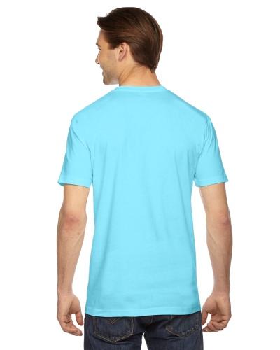 Custom Printed American Apparel 2001W Unisex Fine Jersey Short-Sleeve T-Shirt - 1 - Back View | ThatShirt