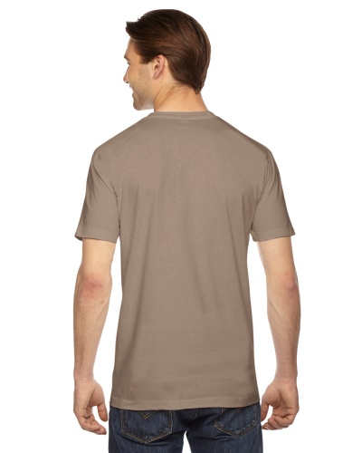 Custom Printed American Apparel 2001W Unisex Fine Jersey Short-Sleeve T-Shirt - 8 - Back View | ThatShirt