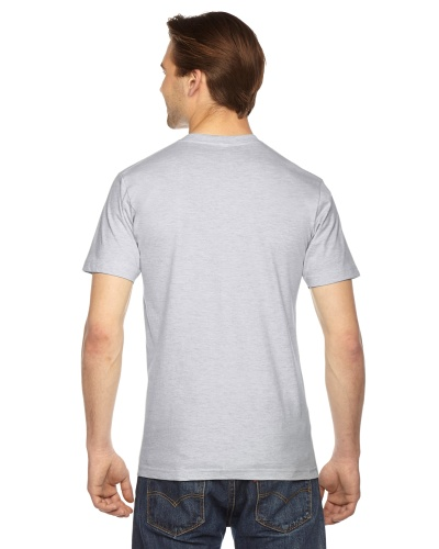 Custom Printed American Apparel 2001W Unisex Fine Jersey Short-Sleeve T-Shirt - 14 - Back View | ThatShirt