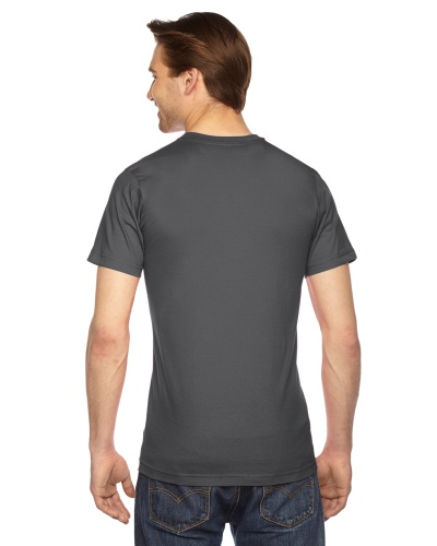 Custom Printed American Apparel 2001W Unisex Fine Jersey Short-Sleeve T-Shirt - 11 - Back View | ThatShirt