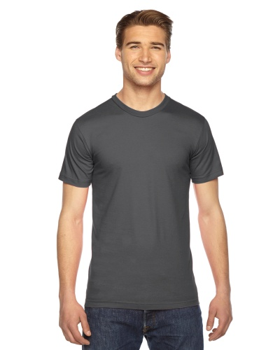 Custom Printed American Apparel 2001W Unisex Fine Jersey Short-Sleeve T-Shirt - Front View   ThatShirt