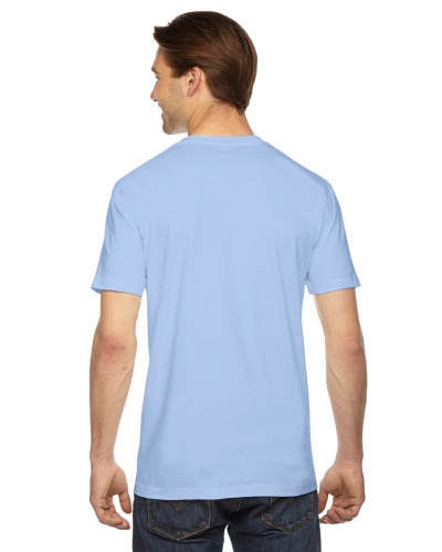 Custom Printed American Apparel 2001W Unisex Fine Jersey Short-Sleeve T-Shirt - 19 - Back View | ThatShirt