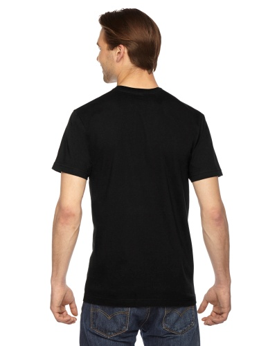 Custom Printed American Apparel 2001W Unisex Fine Jersey Short-Sleeve T-Shirt - 15 - Back View | ThatShirt
