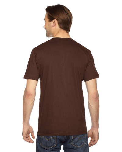 Custom Printed American Apparel 2001W Unisex Fine Jersey Short-Sleeve T-Shirt - 13 - Back View | ThatShirt