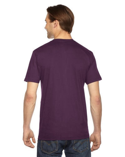 Custom Printed American Apparel 2001W Unisex Fine Jersey Short-Sleeve T-Shirt - 25 - Back View | ThatShirt