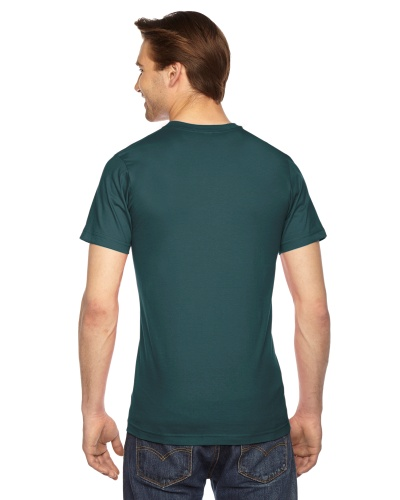 Custom Printed American Apparel 2001W Unisex Fine Jersey Short-Sleeve T-Shirt - 9 - Back View | ThatShirt