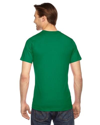 Custom Printed American Apparel 2001W Unisex Fine Jersey Short-Sleeve T-Shirt - 21 - Back View   ThatShirt