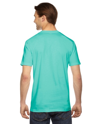 Custom Printed American Apparel 2001W Unisex Fine Jersey Short-Sleeve T-Shirt - 6 - Back View | ThatShirt