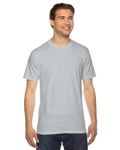 Custom Printed American Apparel 2001W Unisex Fine Jersey Short-Sleeve T-Shirt - Front View | ThatShirt