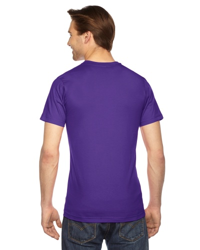 Custom Printed American Apparel 2001W Unisex Fine Jersey Short-Sleeve T-Shirt - 28 - Back View | ThatShirt