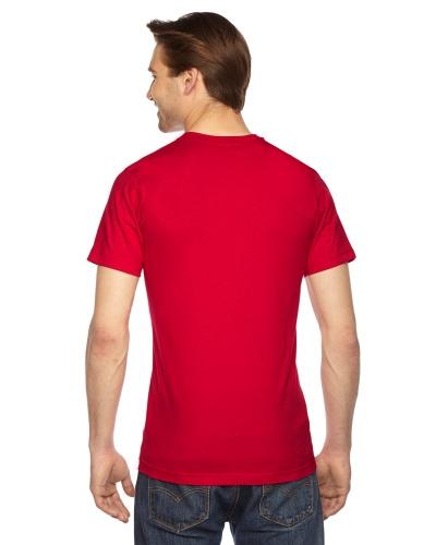 Custom Printed American Apparel 2001W Unisex Fine Jersey Short-Sleeve T-Shirt - 16 - Back View | ThatShirt