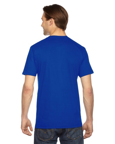 Custom Printed American Apparel 2001W Unisex Fine Jersey Short-Sleeve T-Shirt - 17 - Back View | ThatShirt