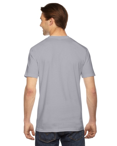 Custom Printed American Apparel 2001W Unisex Fine Jersey Short-Sleeve T-Shirt - 27 - Back View | ThatShirt