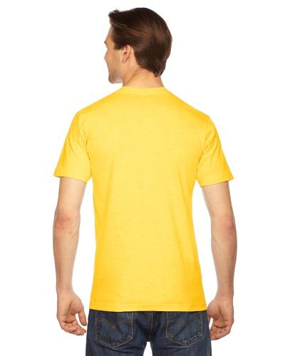 Custom Printed American Apparel 2001W Unisex Fine Jersey Short-Sleeve T-Shirt - 5 - Back View | ThatShirt