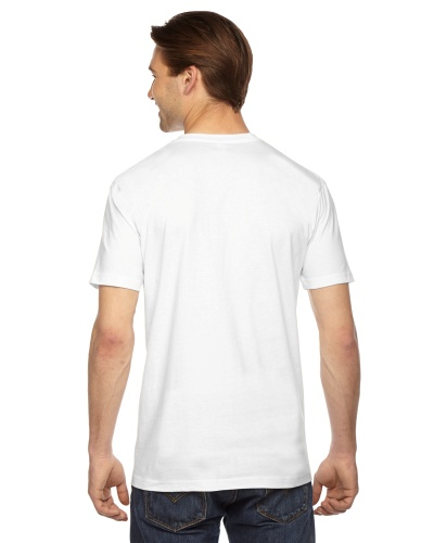 Custom Printed American Apparel 2001W Unisex Fine Jersey Short-Sleeve T-Shirt - 0 - Back View | ThatShirt