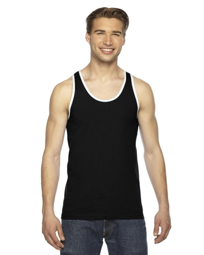 Custom Printed American Apparel 2408W Unisex Fine Jersey Tank Top American Apparel - Front View | ThatShirt