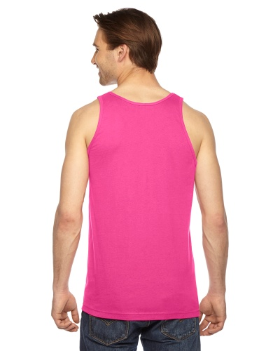 Custom Printed American Apparel 2408W Unisex Fine Jersey Tank Top American Apparel - 2 - Back View | ThatShirt