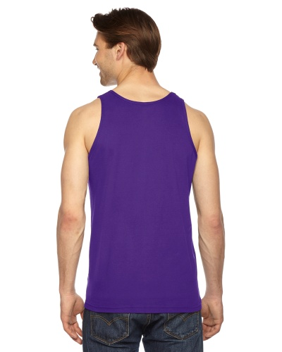 Custom Printed American Apparel 2408W Unisex Fine Jersey Tank Top American Apparel - 5 - Back View | ThatShirt