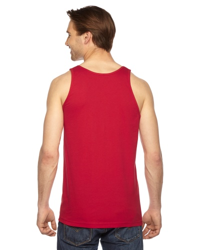 Custom Printed American Apparel 2408W Unisex Fine Jersey Tank Top American Apparel - 6 - Back View | ThatShirt