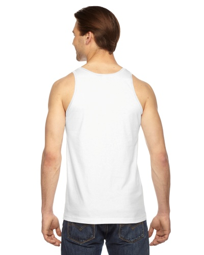 Custom Printed American Apparel 2408W Unisex Fine Jersey Tank Top American Apparel - 8 - Back View | ThatShirt