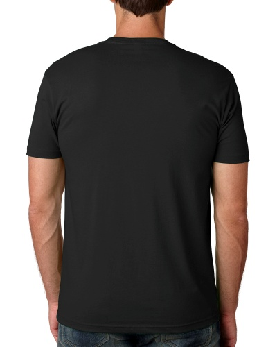 Custom Printed Next Level 3600 Premium Unisex Cotton T-Shirt - 10 - Back View | ThatShirt