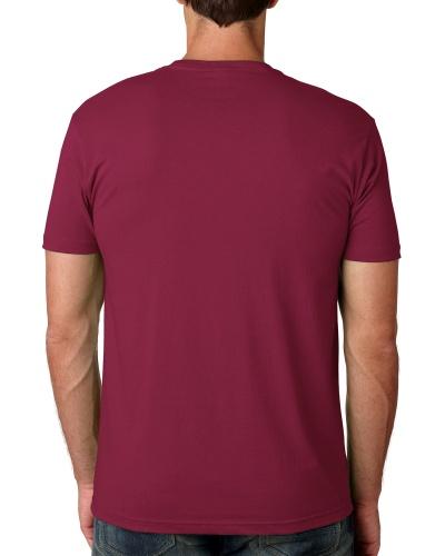 Custom Printed Next Level 3600 Premium Unisex Cotton T-Shirt - 15 - Back View | ThatShirt