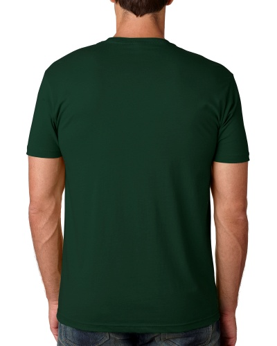 Custom Printed Next Level 3600 Premium Unisex Cotton T-Shirt - 8 - Back View | ThatShirt