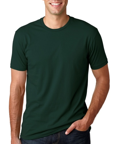 Custom Printed Next Level 3600 Premium Unisex Cotton T-Shirt - 8 - Front View | ThatShirt