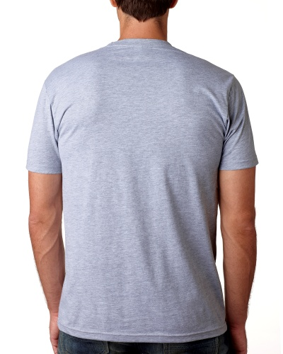 Custom Printed Next Level 3600 Premium Unisex Cotton T-Shirt - 5 - Back View | ThatShirt