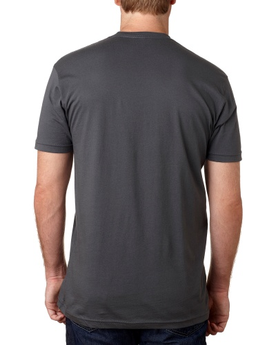 Custom Printed Next Level 3600 Premium Unisex Cotton T-Shirt - 6 - Back View | ThatShirt