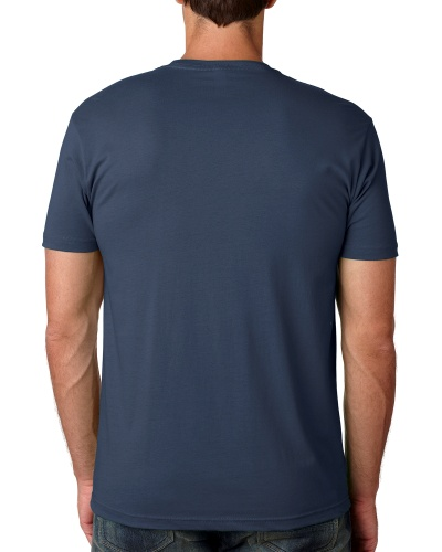 Custom Printed Next Level 3600 Premium Unisex Cotton T-Shirt - 2 - Back View | ThatShirt