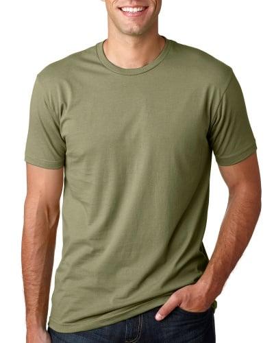 Custom Printed Next Level 3600 Premium Unisex Cotton T-Shirt - Front View | ThatShirt