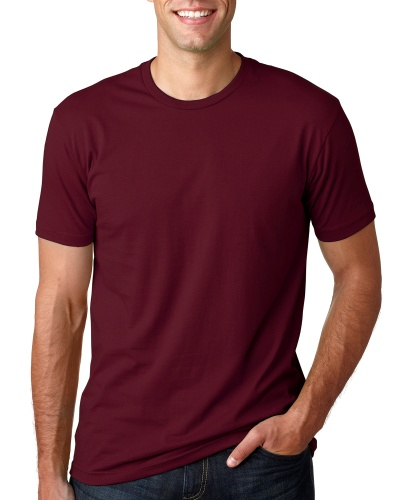Custom Printed Next Level 3600 Premium Unisex Cotton T-Shirt - 14 - Front View | ThatShirt