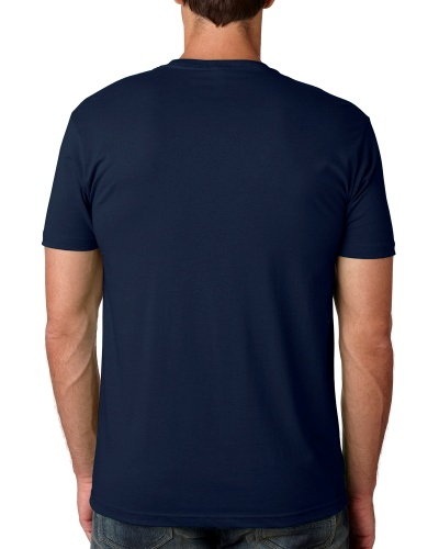 Custom Printed Next Level 3600 Premium Unisex Cotton T-Shirt - 13 - Back View | ThatShirt