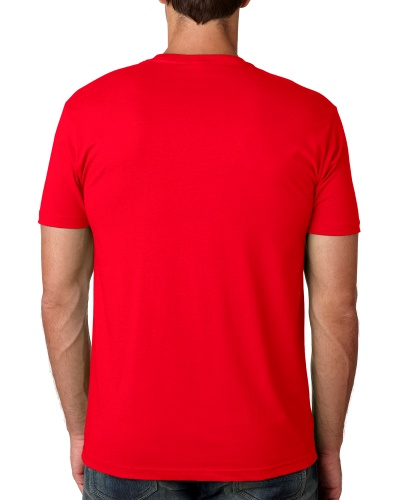 Custom Printed Next Level 3600 Premium Unisex Cotton T-Shirt - 11 - Back View | ThatShirt